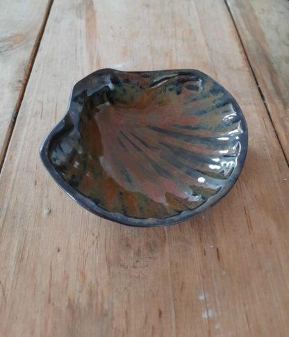 muszelka ceramiczna, muszla, ręcznie, Świętego Jakuba, ceramika - Artiszok