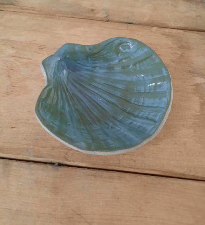 muszla ceramiczna, ręcznie, muszelka, Świętego Jakuba, biżuterię - Artiszok