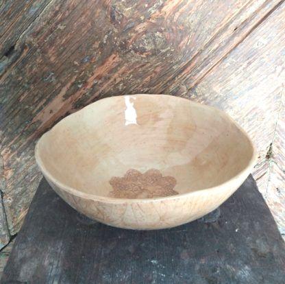 Misa ceramiczna, dekoracja, kuchnia, ręcznie - Artiszok