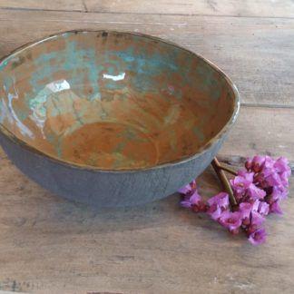 Misa ceramiczna, ceramika, miseczka, prezent, rękodzieło - Artiszok