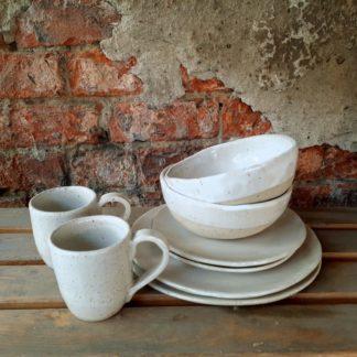 Zestaw ceramiczny, ceramika, miseczka, talerz, kubek - Artiszok