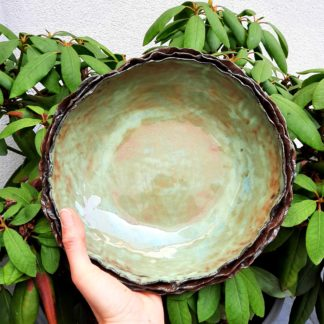 misa, ceramika, rękodzieło - Artiszok
